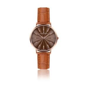 Dámské hodinky s koňakově hnědým páskem z pravé kůže Frederic Graff Rose Monte Rosa Croco Ginger