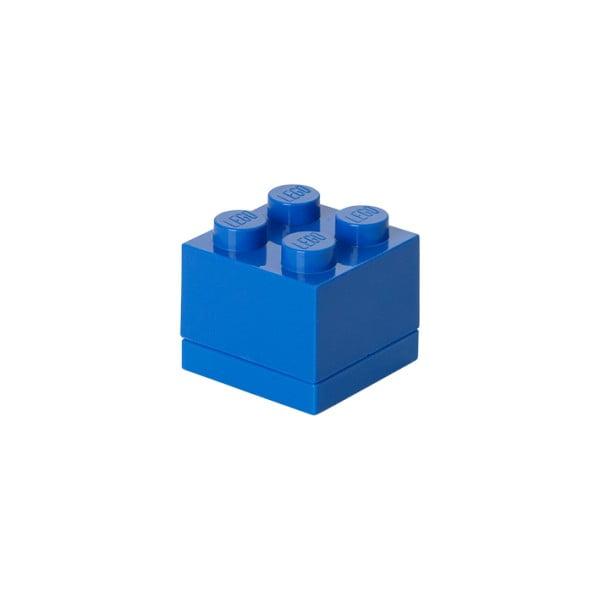 Cutie depozitare LEGO® Mini Box Blue, albastru