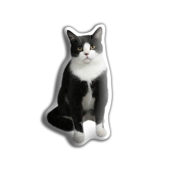 Polštářek Adorable Cushions Černobílá kočka