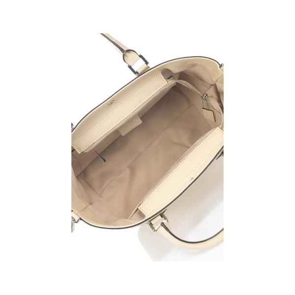 Béžová kožená kabelka Krole Kayleen