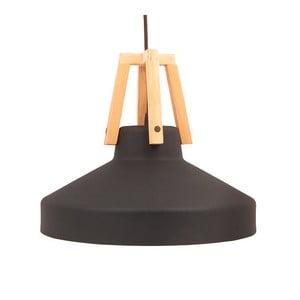 Černé stropní světlo Loft You Work, 33 cm