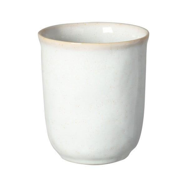 Biely kameninový hrnček Costa Nova Roda, 300 ml