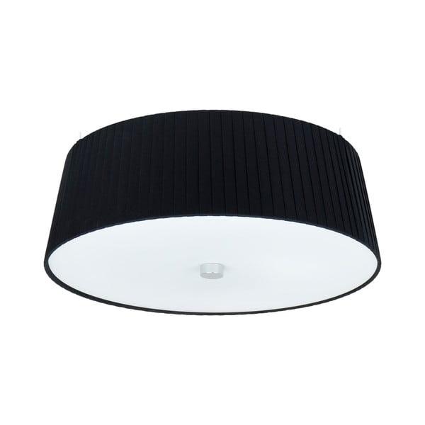 Černobílé stropní svítidlo Bulb Attack Dos Plisado,⌀36cm