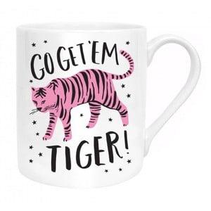 Hrnek z kostního porcelánu Ohh Deer Go Get Them Tiger, 325 ml