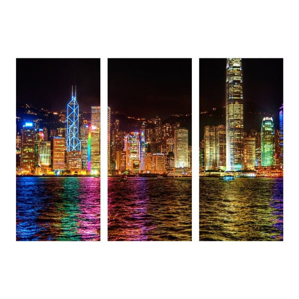 3dílný obraz Světla