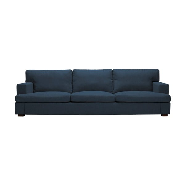 Niebieska sofa 3-osobowa The Classic Living Daphne
