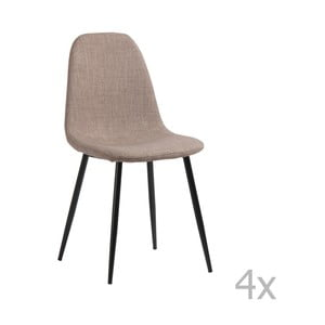Sada 4 jídelních židlí Pondecor Leo