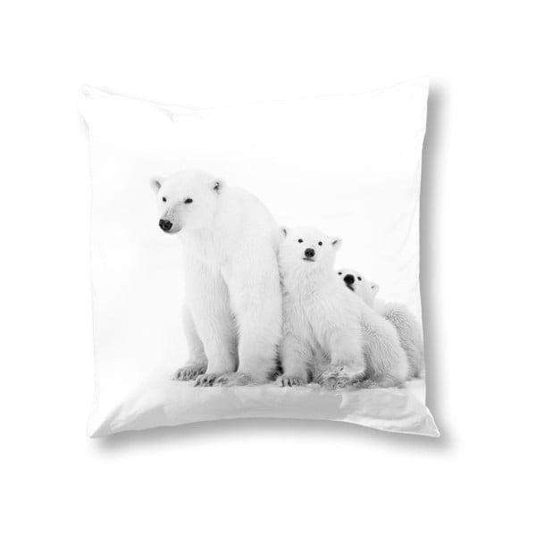 Față de pernă Muller Textiels Icebear, 50 x 50 cm