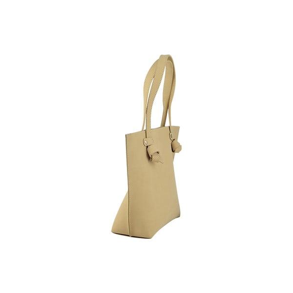Kožená kabelka Betta Beige