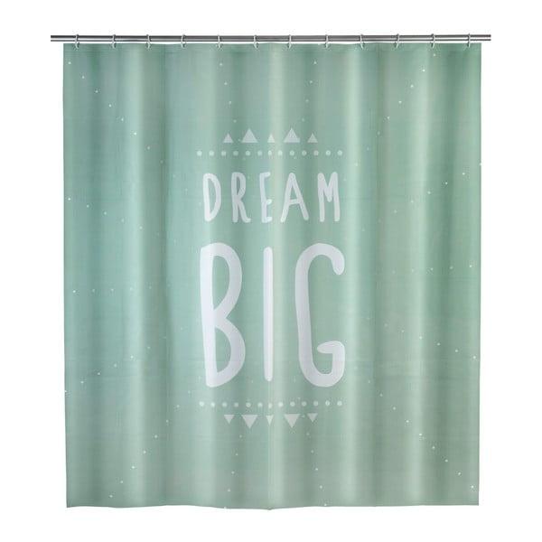Dream mentazöld zuhanyfüggöny, 180 x 200 cm - Wenko