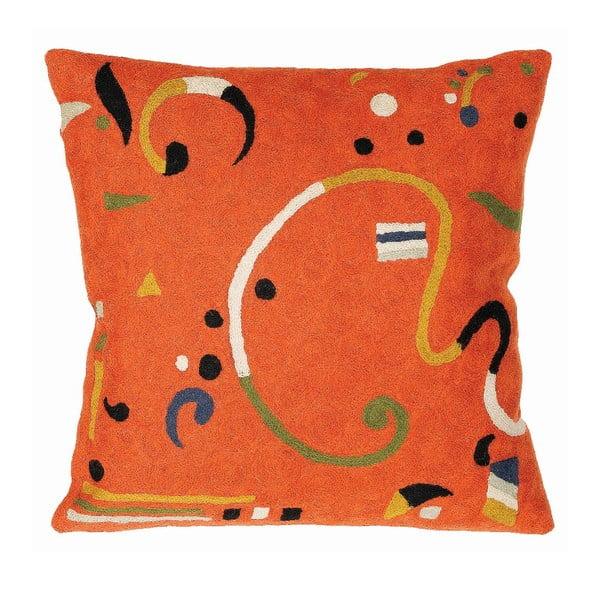 Povlak na polštář Orange Ribbon, 45x45 cm