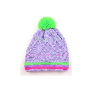 Dívčí čepice Neon Light Purple