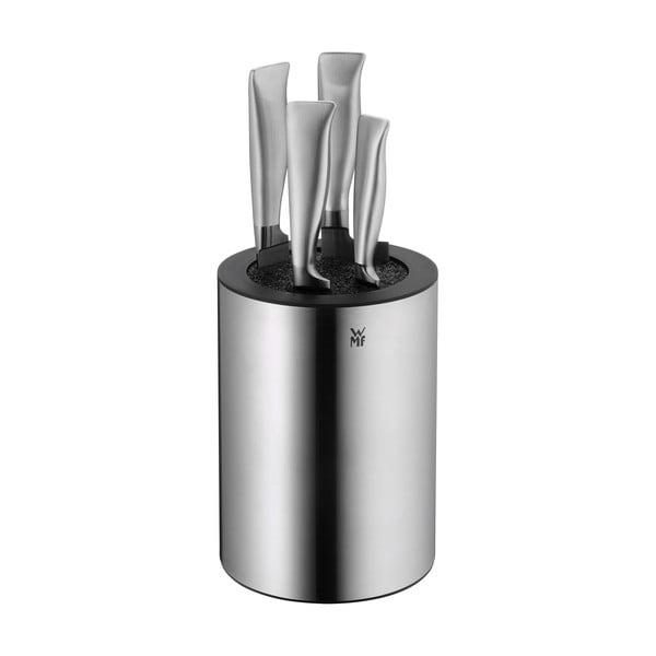 Bloc pentru cuțite din oțel inoxidabil Cromargan® cu inserție de peri WMF