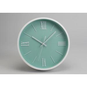 Hodiny Modern Blue Green, 36 cm