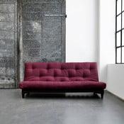 Canapea extensibilă Karup Fresh Wenge/Bordeaux