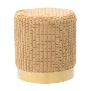 Žlutá stolička InArt Textured