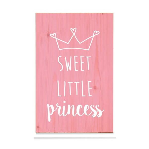 Dřevěná cedule Sweet Little Princess