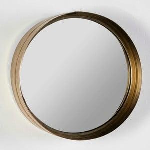 Oglindă de perete rotundă Thai Natura Wathap, ⌀ 30 cm, auriu