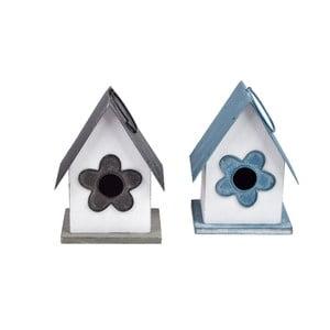 Sada 2 dekorativních domečků Ego Dekor Welcome Home, 10,5 x 14 cm