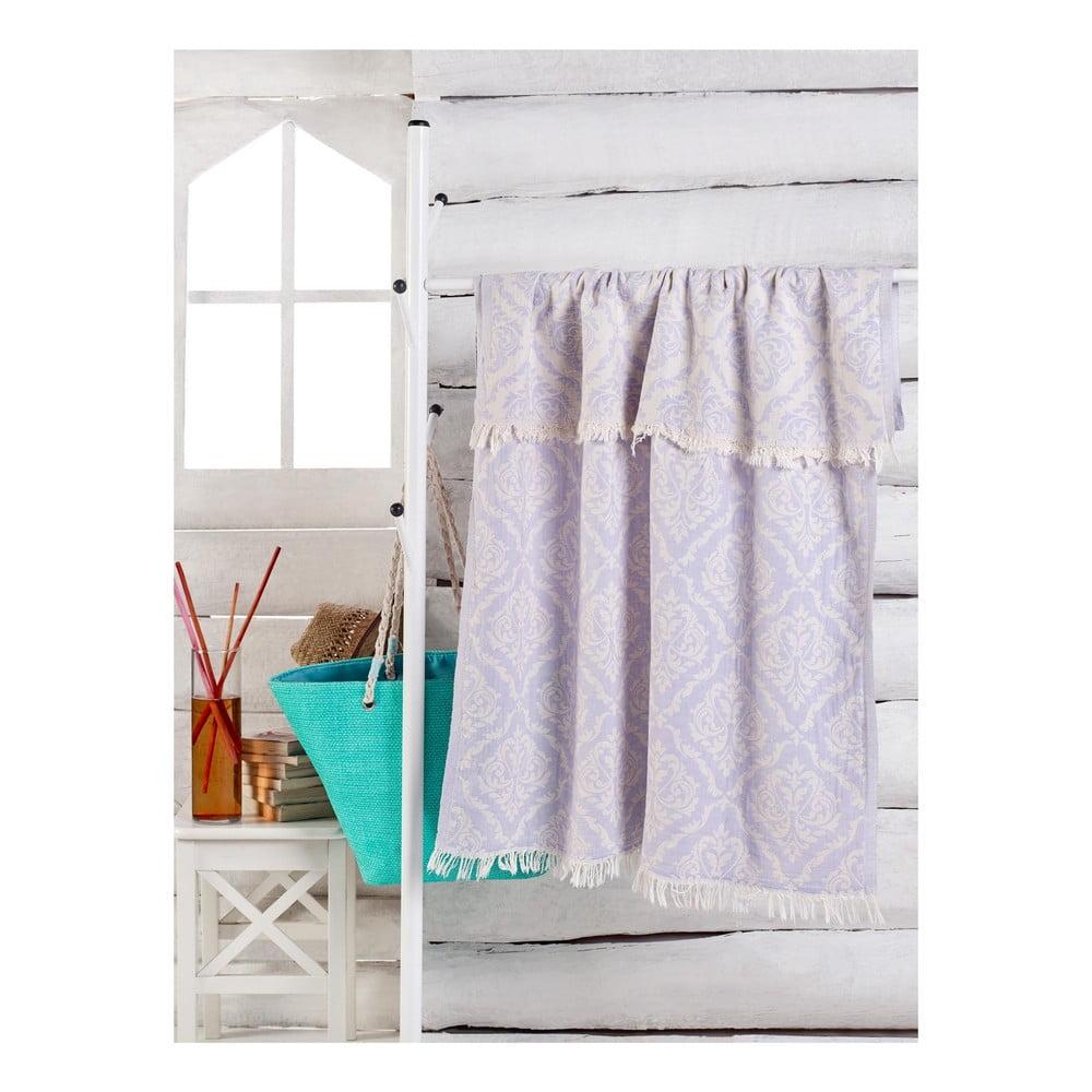 Světle fialový ručník Varak, 180 x 100 cm Bonami