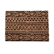 Béžovo-černá rohožka InArt Tribal, 40x60cm
