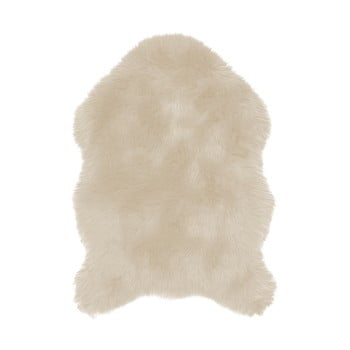 Blană artificială Tiseco Home Studio Sheepskin, 60 x 90 cm, bej de la Tiseco Home Studio