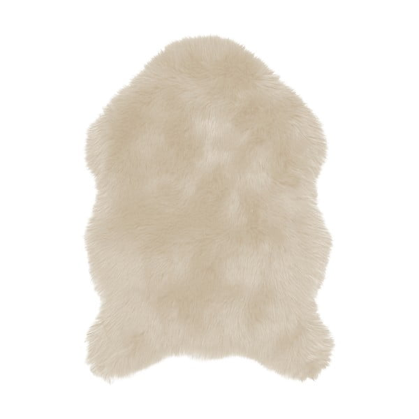 Blană artificială Tiseco Home Studio Sheepskin, 60 x 90 cm, bej