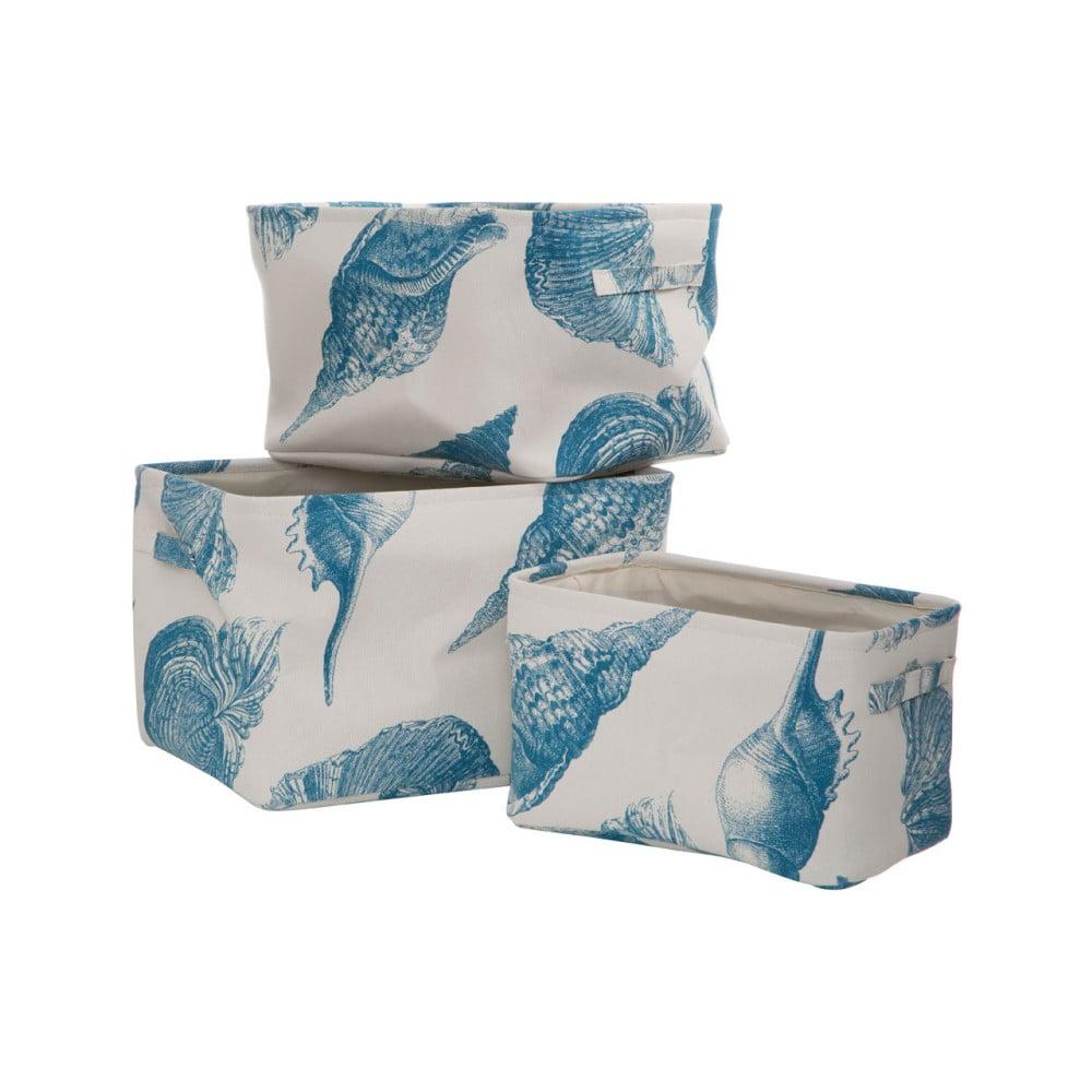 Sada 3 úložných košíků z plátna Premier Housewares Echo