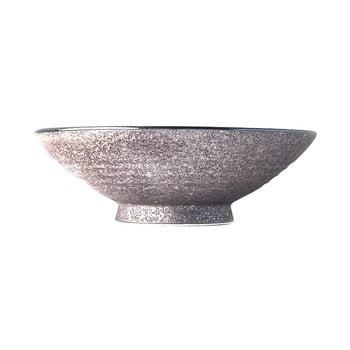 Bol înalt din ceramică pentru supă MIJ Earth,ø24cm, bej