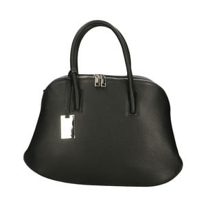 Černá kožená kabelka Roberto Buono Bella