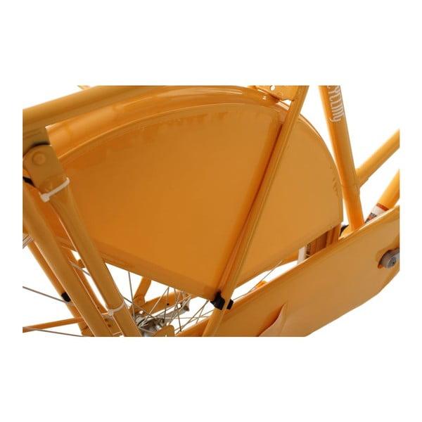 """Kolo Damen Tussaud Gelb 28"""", výška rámu 54 cm, 3 převody"""