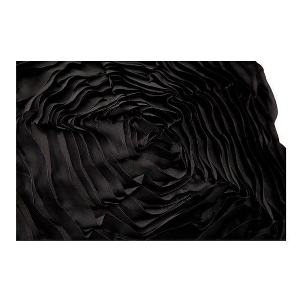 Černý povlak na polštář Mauro Ferretti Tornado, 40 x 40 cm