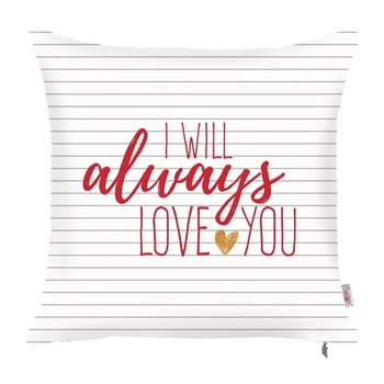 Față de pernă Apolena Always Love You, 43 x 43 cm de la Apolena