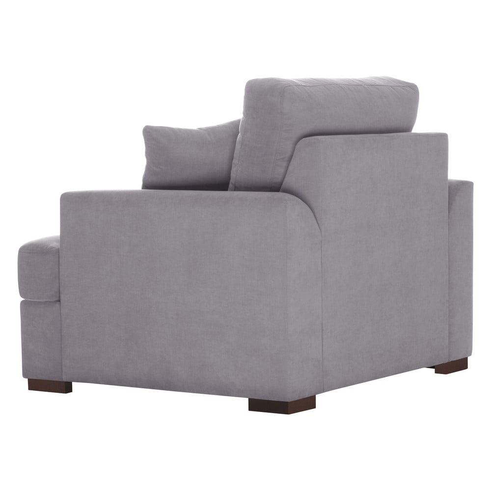 fotoliu jalouse maison irina gri bonami. Black Bedroom Furniture Sets. Home Design Ideas