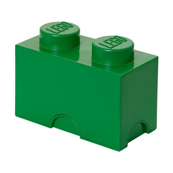 Zielony pojemnik podwójny LEGO®