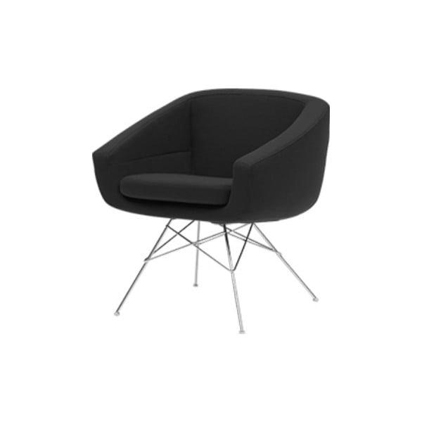 Aiko Vision Black Grey sötétszürke fotel - Softline