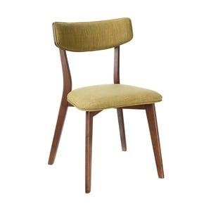 Zelená židle Ixia Nórdico