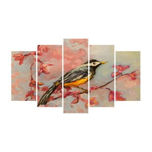 Vícedílný obraz na plátně Bird