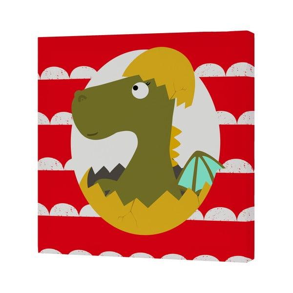 Nástěnný obrázek Little Dragon, 27x27 cm