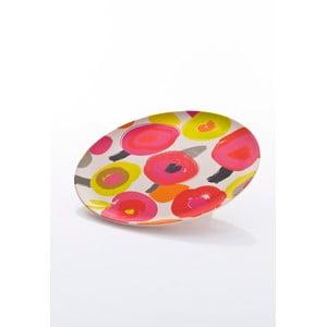 Talíř 22,5 x 1,4 cm, barevný
