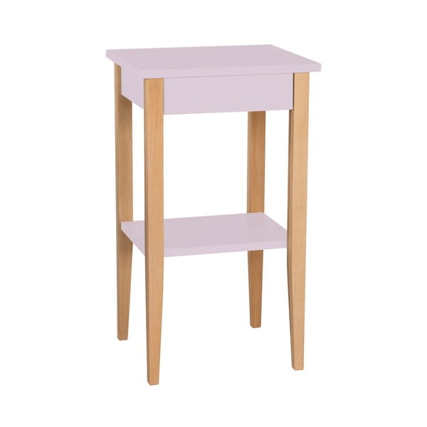 Entlik rózsaszín tárolóasztal - Ragaba