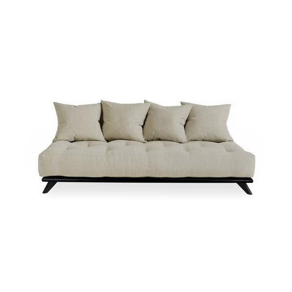 Canapea Karup Design Senza Black/Linen