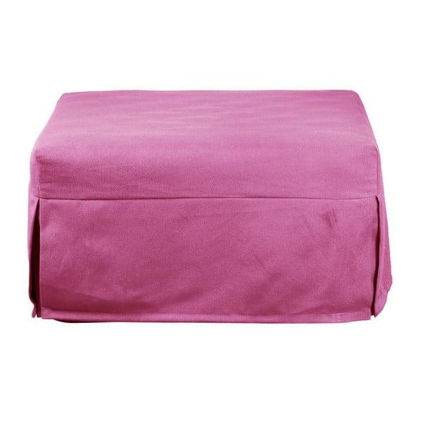 Růžový rozkládací puf/lůžko 13Casa Evolution