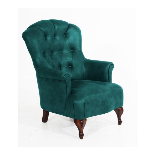 Camilla petróleum kék fotel - Max Winzer