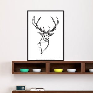 Plakát Royal Stag Deer