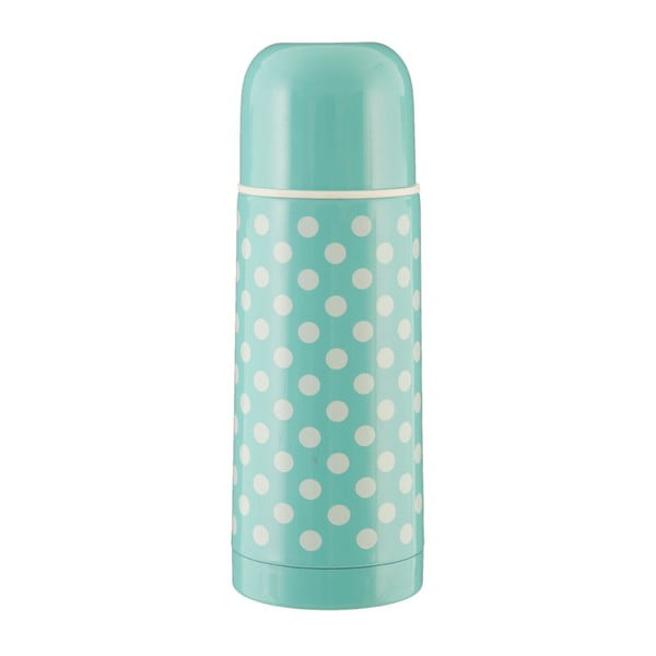 Sticlă termos Premier Housewares Spot , 350 ml, verde mentă