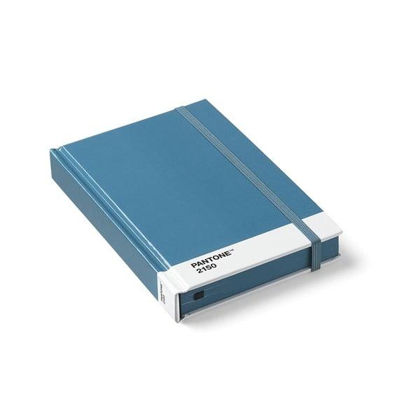 Set 2 caiete mici Pantone, albastru