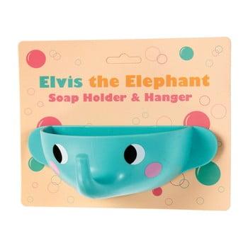 Săpunieră cu ventuze Rex London Elvis the Elephant imagine
