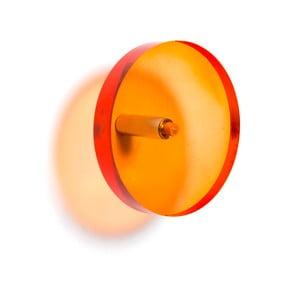 Oranžový háček na kabáty Acrylic