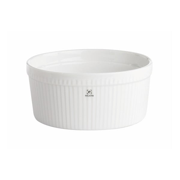 Porcelánová miska na soufflé KJ Collection, ⌀ 19,5 cm